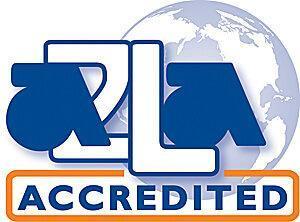 A2LA Accredited Logo