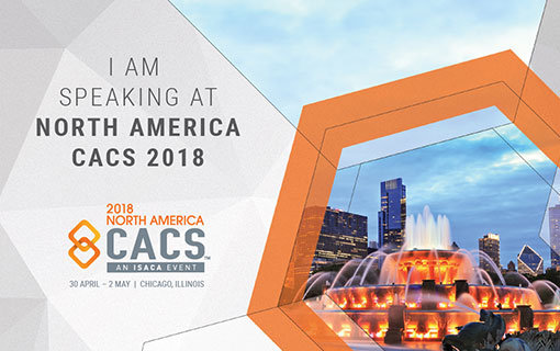 2018 ISACA North American CACS event in Chicago, Illinois